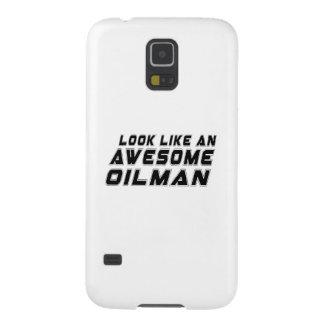 Parezca un Oilman impresionante Fundas Para Galaxy S5