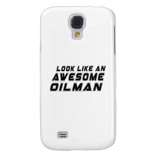 Parezca un Oilman impresionante Funda Para Galaxy S4