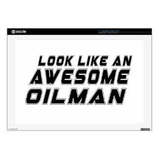 Parezca un Oilman impresionante Portátil Skin