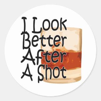 Parezco mejor después de un pegatina 1 del tiro