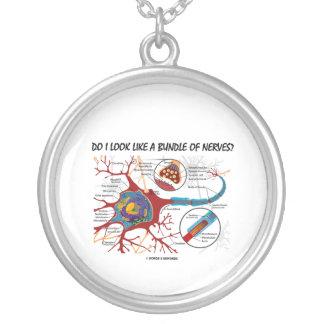 ¿Parezco un paquete de nervios? (Neurona) Colgante Redondo
