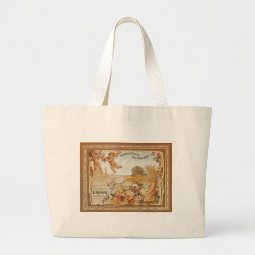 Parfumerie Britannia Vintage Ad - Bag Canvas Bag