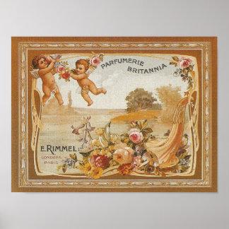 Parfumerie Britannia Vintage Ad - Print Print