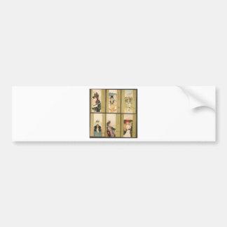 Parfums by Raphael Kirchner Bumper Sticker