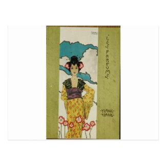 Parfums by Raphael Kirchner Postcard