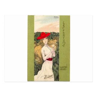 Parfums por Raphael Kirchner Tarjetas Postales