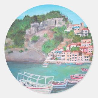 Parga in Greece Sticker