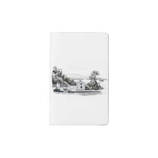 Parga Island Pocket Moleskine Notebook