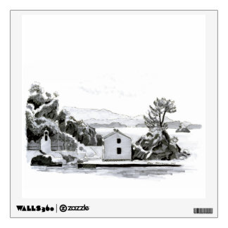 Parga Island Wall Decal
