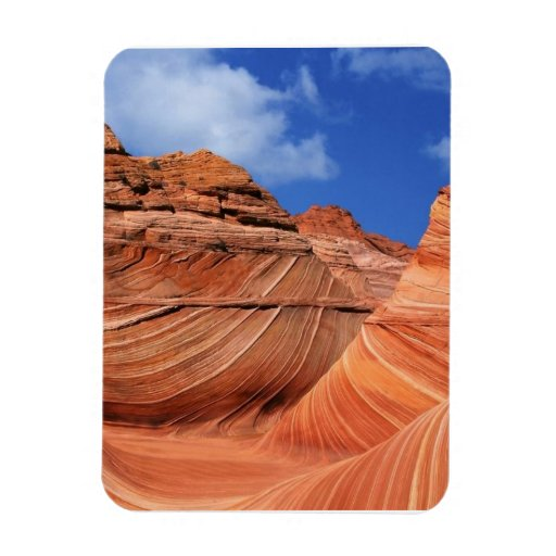 Paria Canyon, Arizona Rectangular Photo Magnet