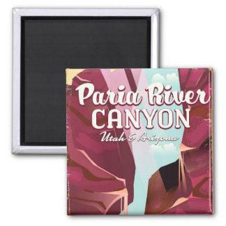 Paria River Canyon, Utah & Arizona Magnet