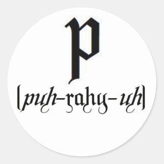 Pariah sticker