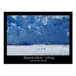 Parida del glaciar de Margerie/Glacier Bay Alaska Postal