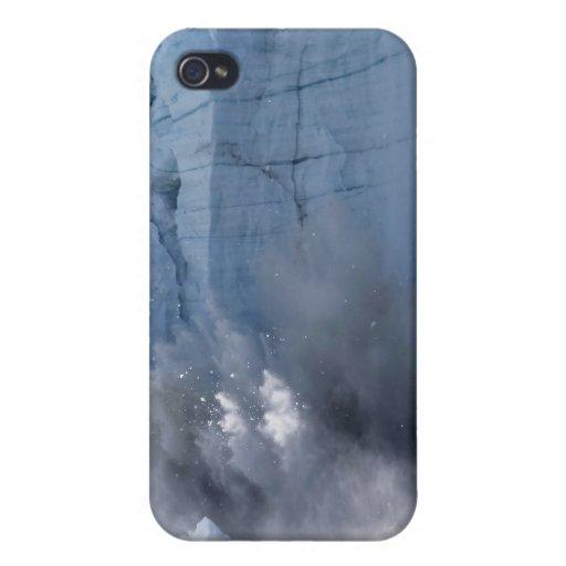Parida del glaciar en Alaska iPhone 4 Carcasa