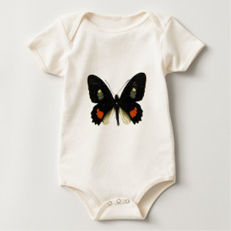 Parides Swallowtail Butterfly Baby Bodysuit