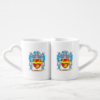 Paries Coat of Arms - Family Crest Couples' Coffee Mug Set