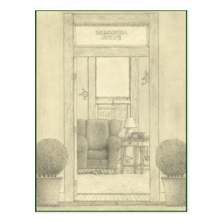 """Parinoia Suite Postcard"