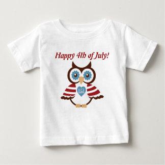Pariotic Owl T-Shirt