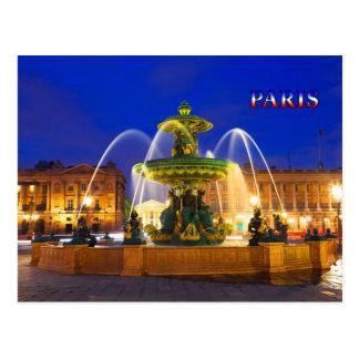 Paris 016D Post Card