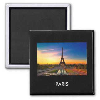 Paris 017W Refrigerator Magnets