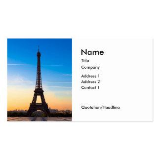 París 01A Tarjetas De Visita