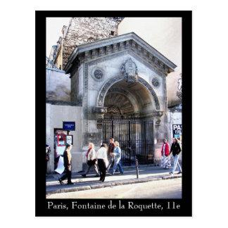 Paris 11e - Postcard