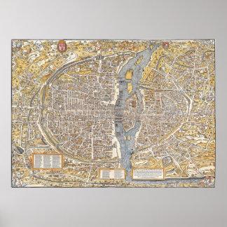 Paris 1550 poster