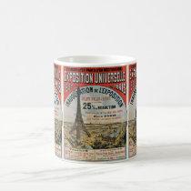 Paris 1889 - Expostion universal world fair Coffee Mug