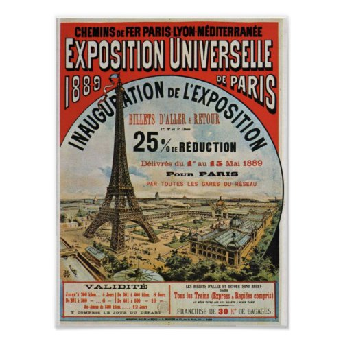 Paris 1889 - Expostion universal world fair