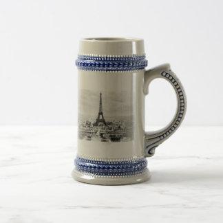 Paris 1889 18 oz beer stein