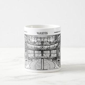 París, 1900, Variétès Taza Clásica