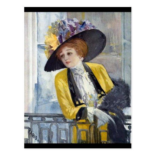 Paris 1909 postcard