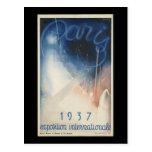 Paris 1937 exposition internationale postcards