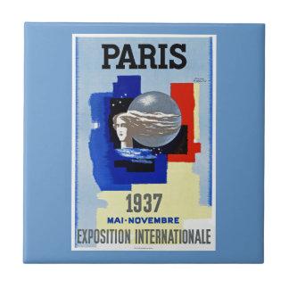 Paris 1937 ~ Exposition Internationale Tile