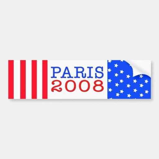 Paris 2008 Bumper Sticker