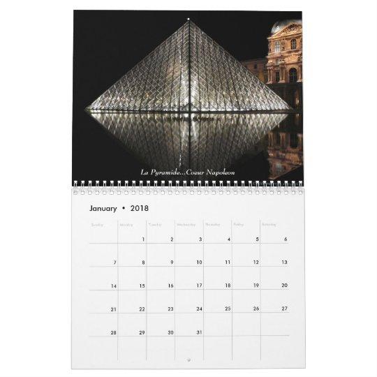 Paris  2008 calendar