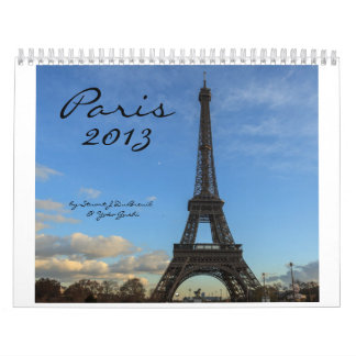 Paris 2013, by Stuart J DuBreuil and Yoko Gushi Calendar