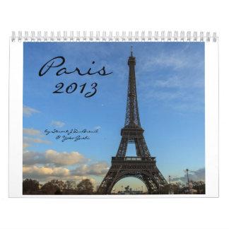 París 2013, por Estuardo J DuBreuil y Yoko Gushi Calendarios