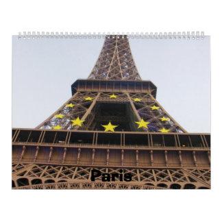 París 2014 calendarios