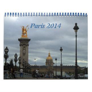 Paris 2014 photography calendar