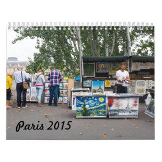 Paris 2015 Calendar