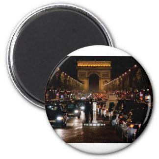 Paris 2 Inch Round Magnet