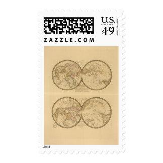 Paris 2 postage stamps