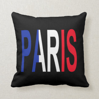 Paris 2 Sided Pillow