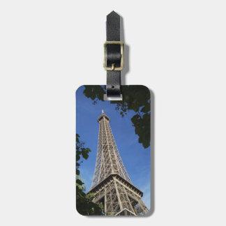 Paris 3 bag tag