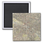 Paris 4 2 inch square magnet