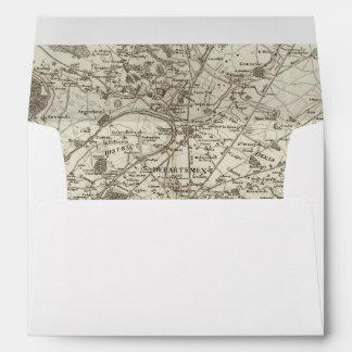 Paris 5 envelope
