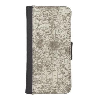 París 5 fundas billetera de iPhone 5