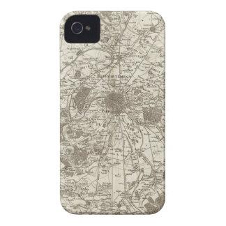París 5 iPhone 4 cárcasas