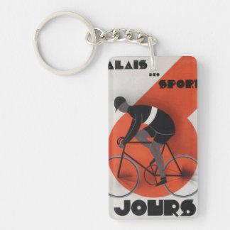 Paris 6 Day Keychain